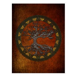 Celtic Tree of Life [Yggdrasil] Post Card