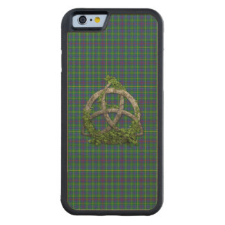 Celtic Trinity And Clan Bailey Tartan Maple iPhone 6 Bumper Case