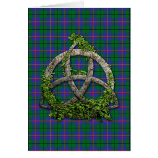 Celtic Trinity Knot And Clan Carmichael Card