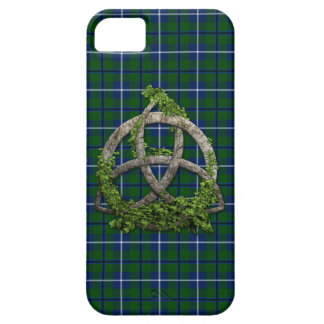 Celtic Trinity Knot And Clan Douglas Tartan iPhone 5 Covers