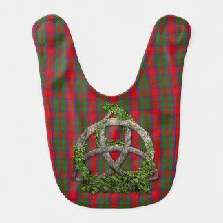 Celtic Trinity Knot And Clan MacKintosh Tartan Bib