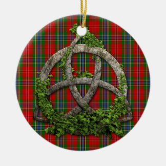 Celtic Trinity Knot And Clan MacLean Of Duart Christmas Ornament