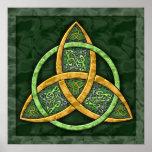 Celtic Trinity Knot Art Print