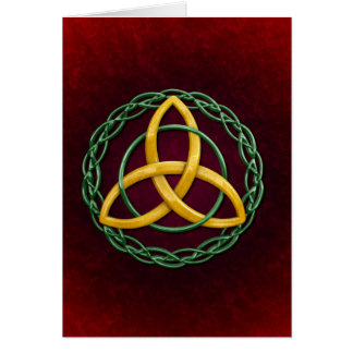 Celtic Trinity Knot Card