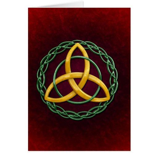 Celtic Trinity Knot Greeting Card