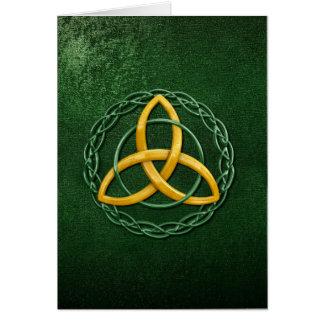 Celtic Trinity Knot Card