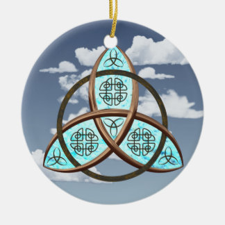 Celtic Trinity Knot Christmas Ornament