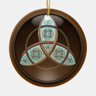 Celtic Trinity Knot Christmas Ornament