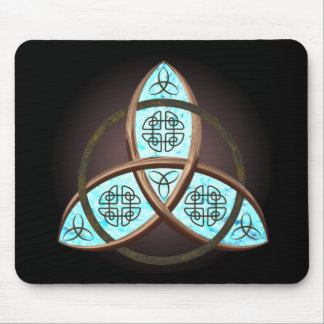 Celtic Trinity Knot Mouse Mat