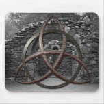 Celtic Trinity Knot Mouse Pad