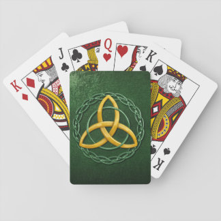 Celtic Trinity Knot Playing Cards