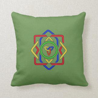 Celtic Trinity Knot Reversible Cushion