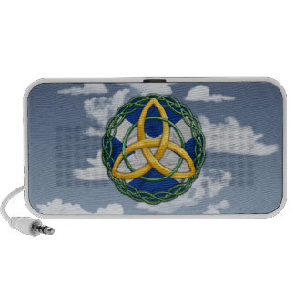 Celtic Trinity Knot Portable Speakers