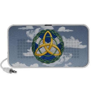 Celtic Trinity Knot Portable Speakers