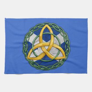 Celtic Trinity Knot Tea Towel