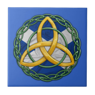 Celtic Trinity Knot Small Square Tile