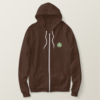 Celtic Trinity Knot Up Embroidered Hoodie