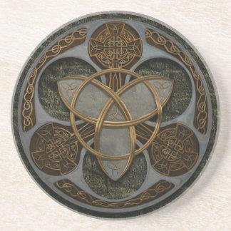 Celtic Trinity Shield Coaster