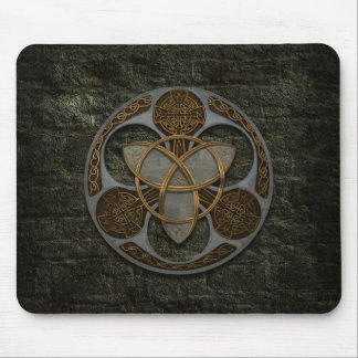 Celtic Trinity Shield Mouse Mat