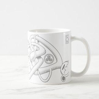 Celtic Triple Heart Mug