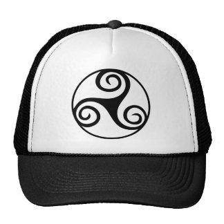 Celtic Triquetra Knot Trucker Hats