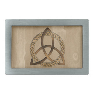 Celtic Triquetra Trinity Knot Belt Buckle