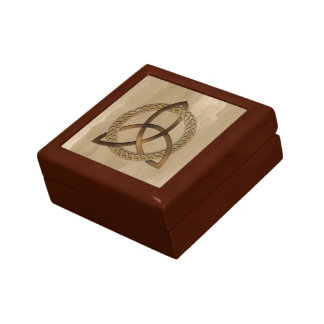 Celtic Triquetra Trinity Knot Giftbox Gift Box