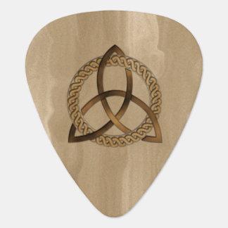 Celtic Triquetra Trinity Knot Guitar Pick