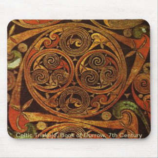 Celtic Triskele Mouse Pad