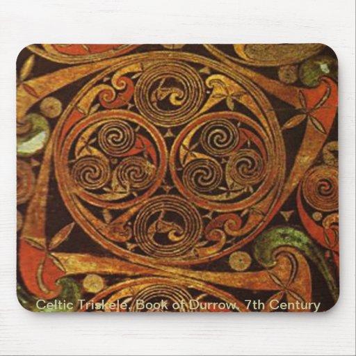 Celtic Triskele Mousepad