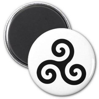Celtic Triskelion Symbol Magnet
