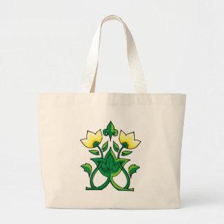 Celtic Tulips Tote Bag