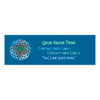 Celtic Turtle Profile Card Pack Of Skinny Business Cards