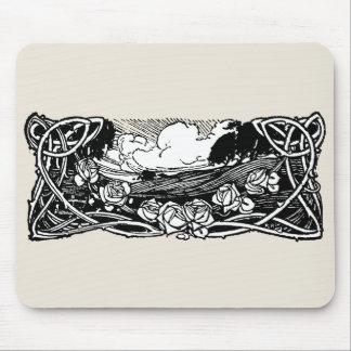 Celtic Vines Landscape Mousepads