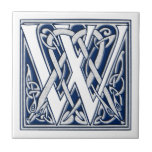 Celtic W Monogram Ceramic Tiles