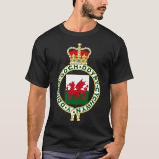 Celtic Wales Welsh 1953 Royal Badge of Wales T-Shirt