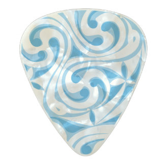 Celtic Warrior Pearl Celluloid Guitar Pick