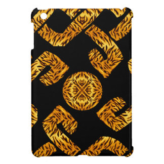 Celtic Weave Tiger Pattern Case For The iPad Mini