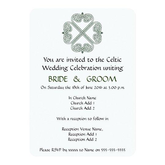 Celtic Wedding Celebration Invitation