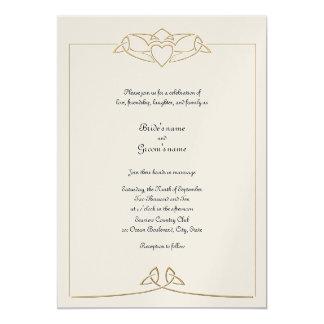 Celtic Wedding Invitation