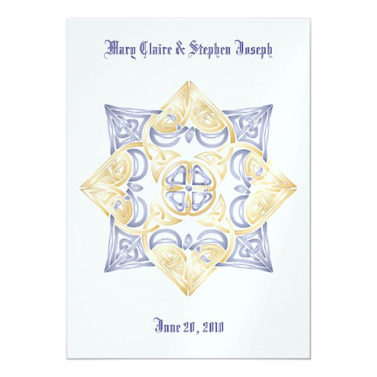 Celtic Wedding Knot Invitation