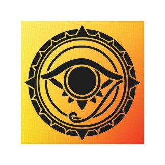 Celtic /Wiccan Elements Air Spring Symbol Canvas Print