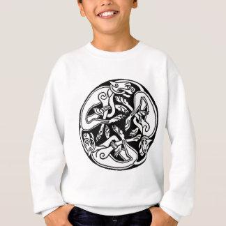 Celtic Wolf  Triskelion Sweatshirt