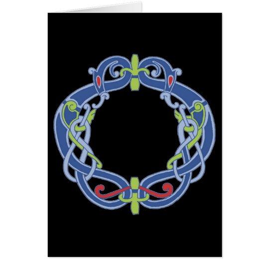 Celtic Wreath Card