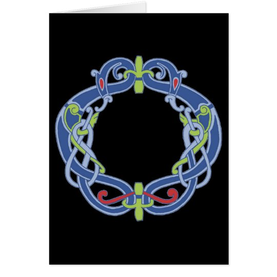 Celtic Wreath Greeting Card