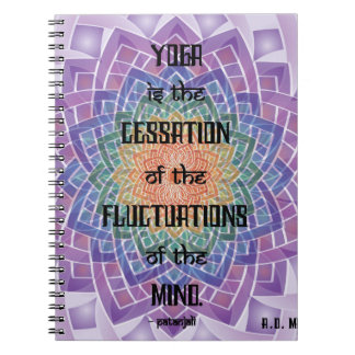Celtic Yoga Sutra Notebook