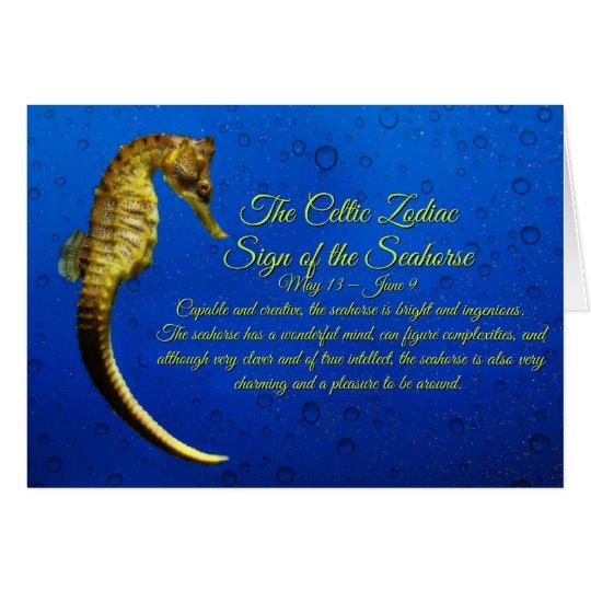 Celtic Zodiac Sign of the Seahorse Gemini Birthday