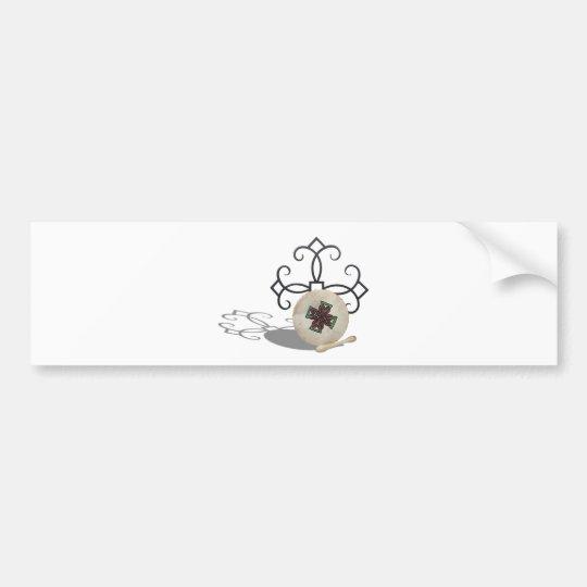 CelticDrum092610 Bumper Sticker