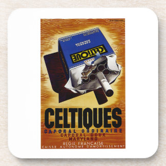 Celtiques Cigarettes Beverage Coaster