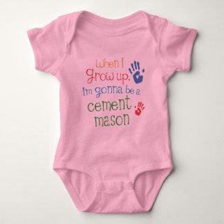 Cement Mason (Future) Infant Baby T-Shirt
